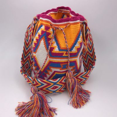 Authentic Wayuu Mochila bag