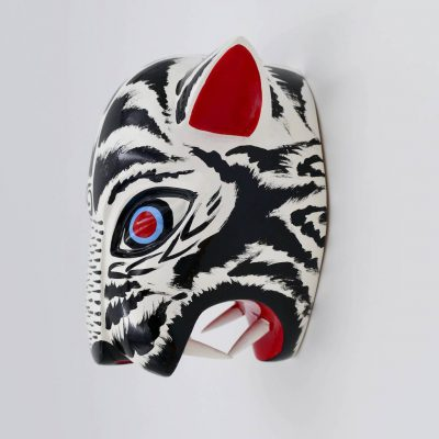 Animal head for wall decoration: A tiger head perfect for kids bedrooms