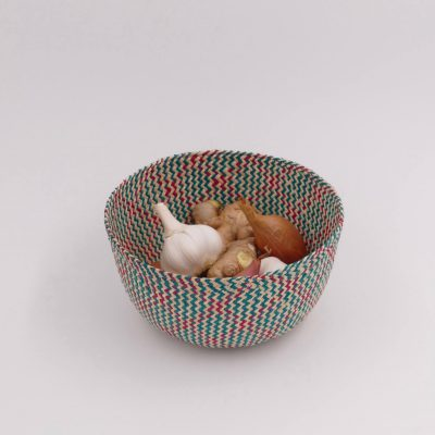 Small storage basket for dry food in the kitchen