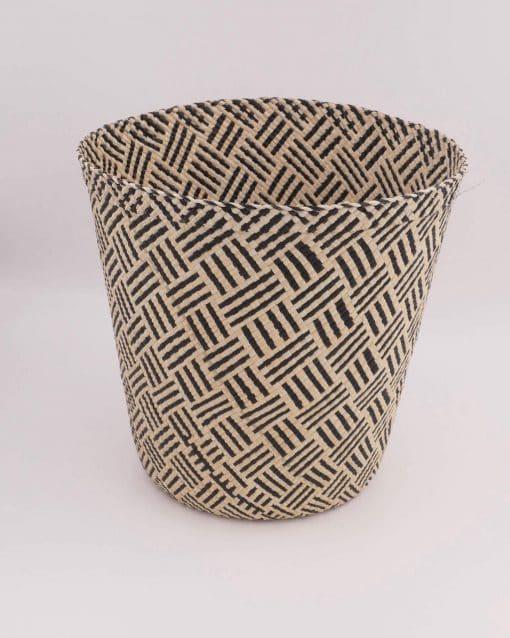 Ethnic chic storage basket