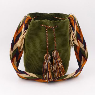 Colombian bags handmade by native Wayuu people