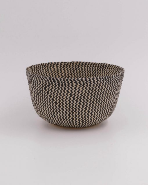 Small round basket for bathroom or kitchen