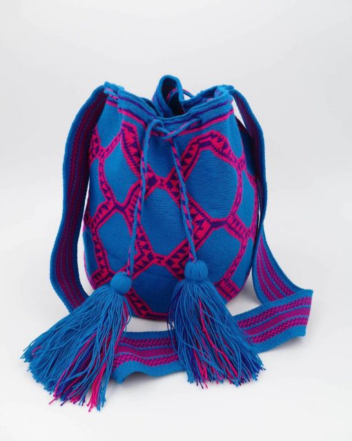 Stunning Mochila Wayuu, handmade by indigenous people of Colombia