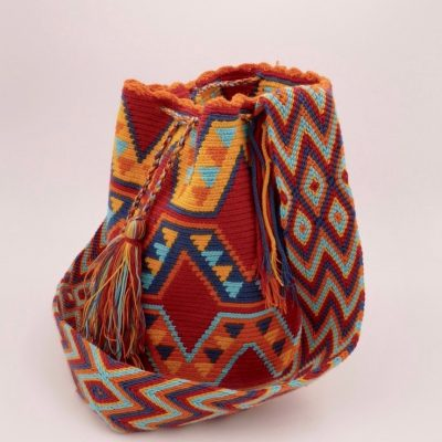 Colombian bag with unique design and colors