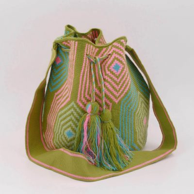 Mochila Wayuu bags are known around the world for their great design and stunning color combinations