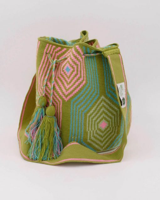 Colombian bag handmade by native people. Each piece is unique