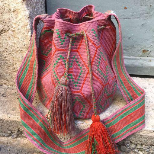 Sac Wayuu Colombien Authentique