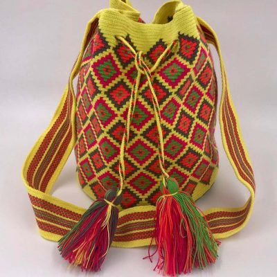 Authentic Colombian Wayuu Mochila bag