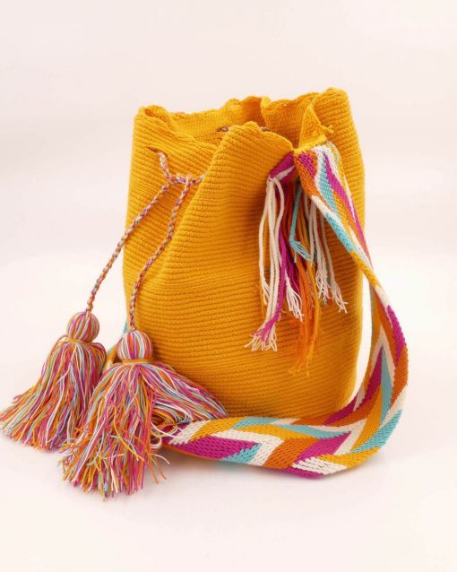 Yellow michela bag