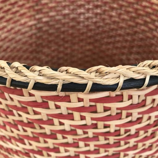 Detail - handwoven storage basket