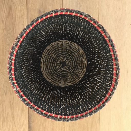 Amazonian black storage basket