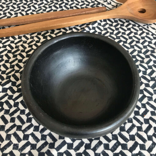 Black bowl handmade