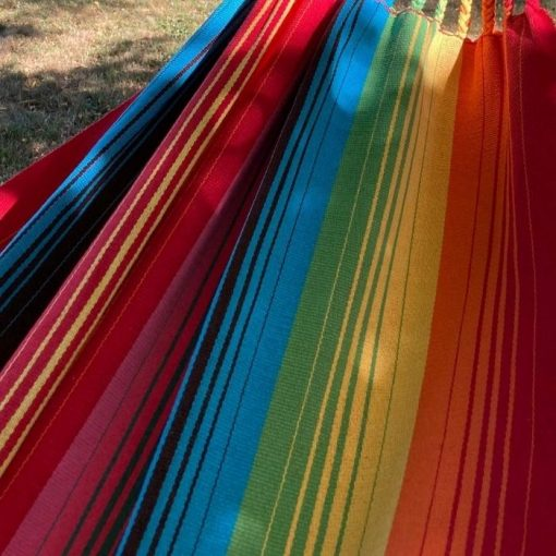 Earth colors hanging hammock