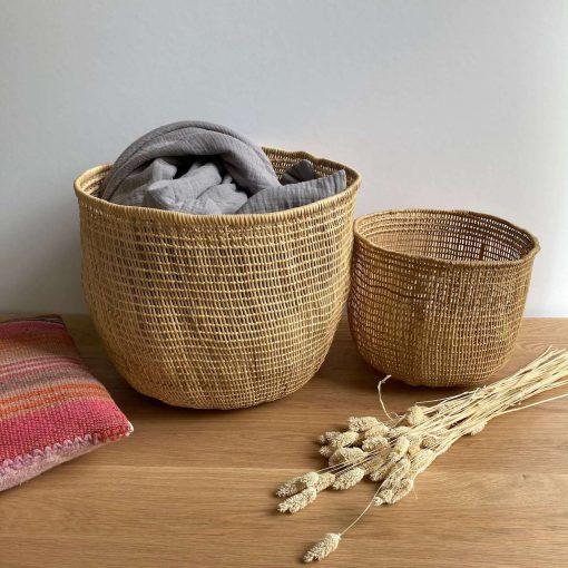 storage basket natural fibre
