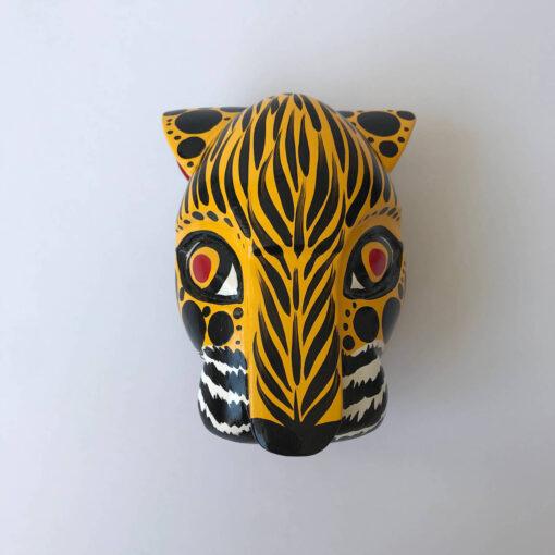 jaguar wooden head