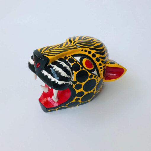 jaguar mounted animal head