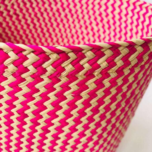 girl's bedroom basket