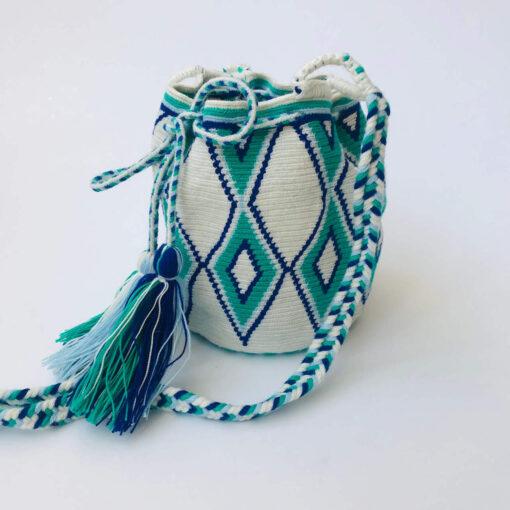 small and Green Wayuu Bag
