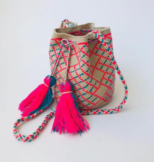 small ethnic wayuu bag